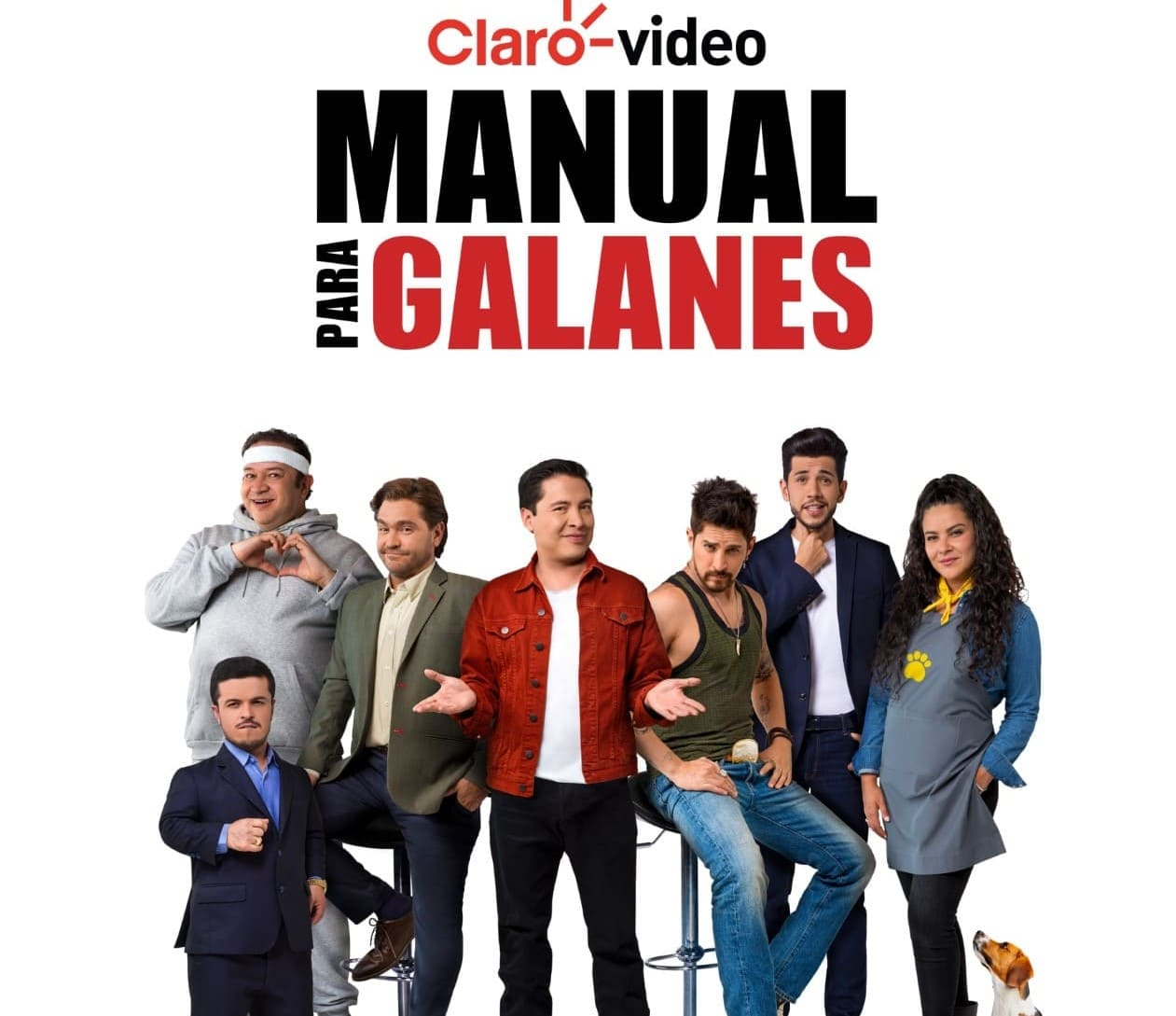 "Claro video presenta su nueva serie ""Manual para Galanes"""