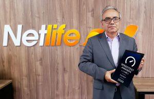 Por segundo año consecutivo, Netlife recibe premio internacional por ser el internet más rápido del Ecuador