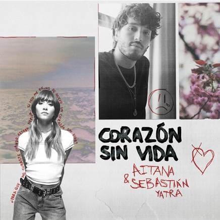 """La cantante Aitana estrena """"Corazón sin vida"""" junto a Sebastián Yatra"""