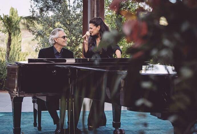 """Andrea Bocelli lanza """"Pianissimo"""", un nuevo dueto junto a Cecilia Bartoli"""