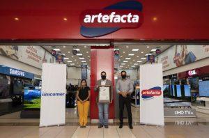 Artefacta es la primera cadena de electrodomésticos en el país en recibir el aval de Carbono Neutro