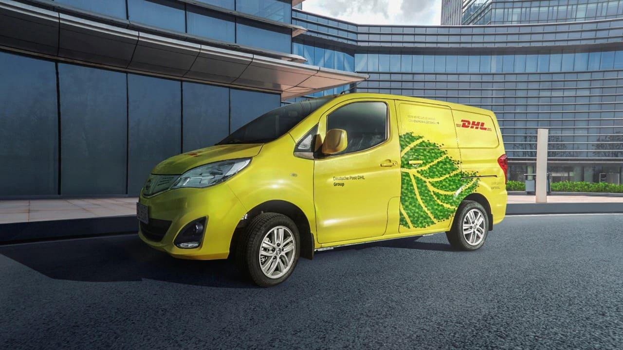 DHL Express incorpora vehículo 100% eléctrico a su flota en Ecuador