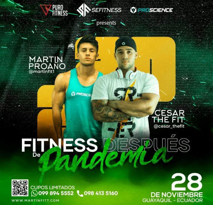 """""""Fitness Después de la Pandemia"""", un seminario dedicado a los amantes del ejercicio"""