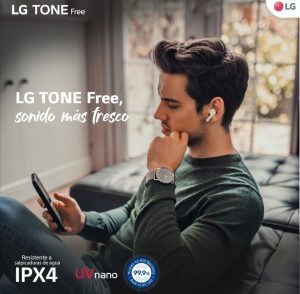 LG Electronics evoluciona los audífonos inalámbricos con los LG Tone Free FN6