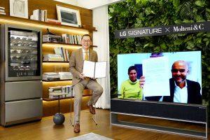 LG firma convenio con Luxury Italian Lifestyle para futuros proyectos