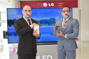 LG lanza su nueva línea de celulares de la Serie K con características premium