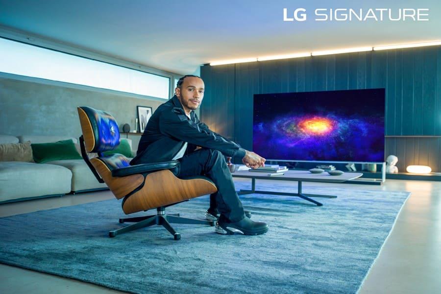 El seis veces campeón mundial de fórmula Uno, Lewis Hamilton, es nombrado embajador de LG