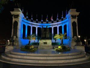Malecón 2000 reactiva sus espacios con arte y cultura para celebrar las fiestas de Guayaquil