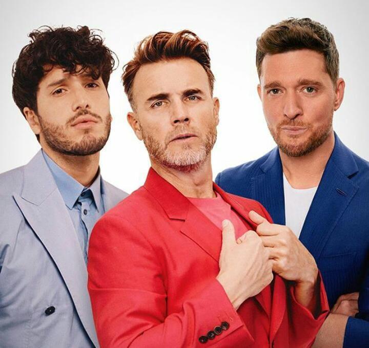 """Sebastián Yatra y Michael Bublé acompañan a Gary Barlow en el lanzamiento del tema """"Elita"""""""