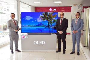 LG presentó al mercado ecuatoriano sus nuevos televisores Oled 2020
