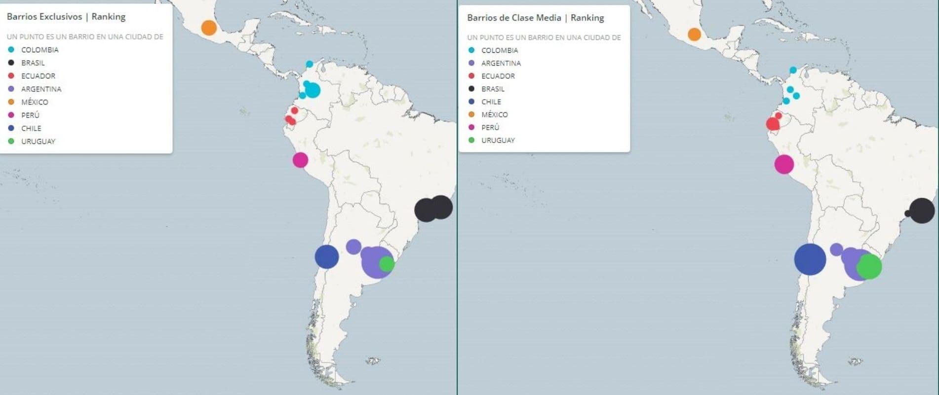 Barrios de Quito, Guayaquil y Cuenca, entre los más económicos de la región