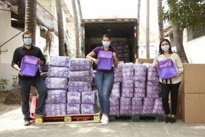 Marca Íntima donó más de 2000 kits escolares a niñas del Ecuador