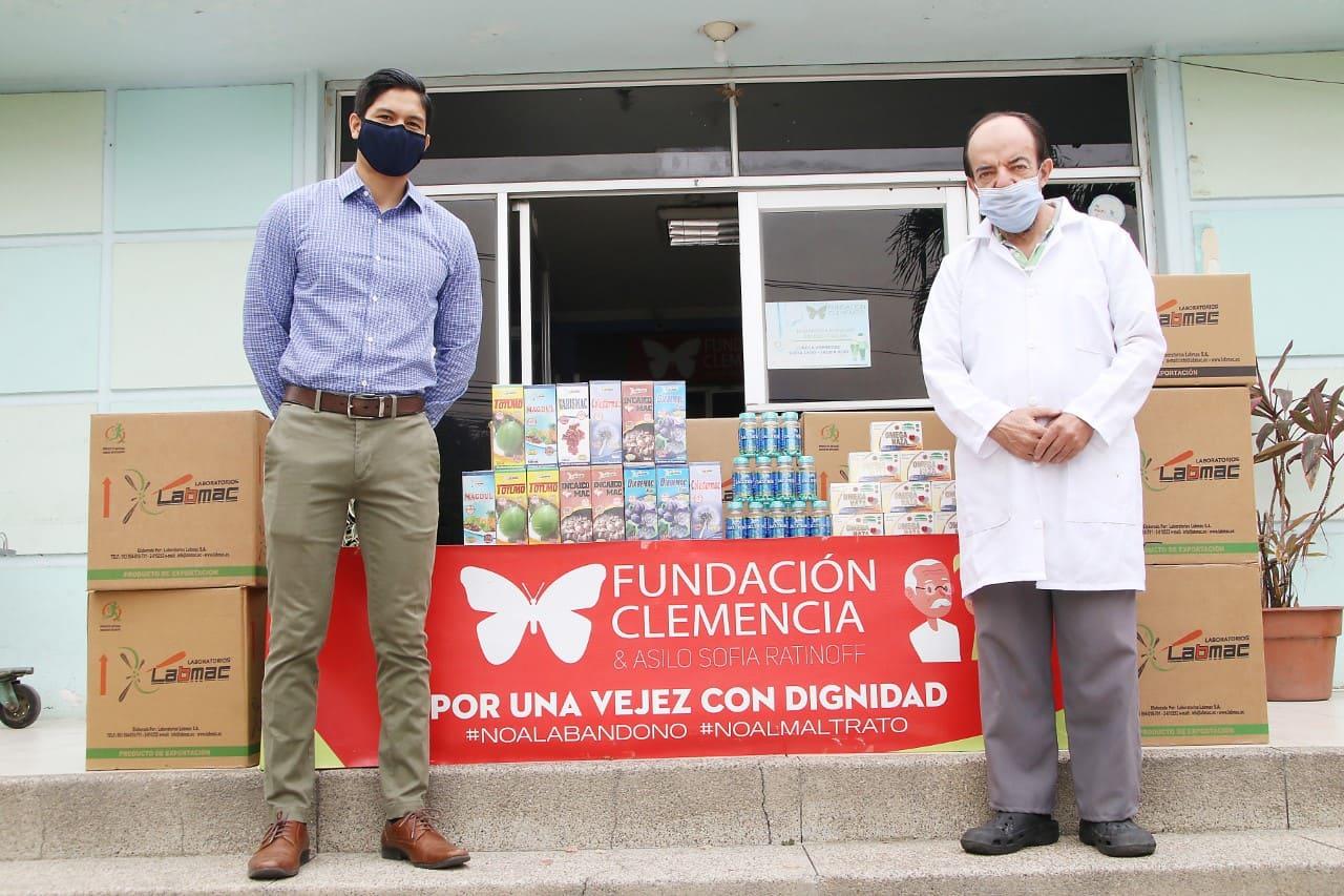 Laboratorios Labmac realizó importante donación a Fundación Clemencia