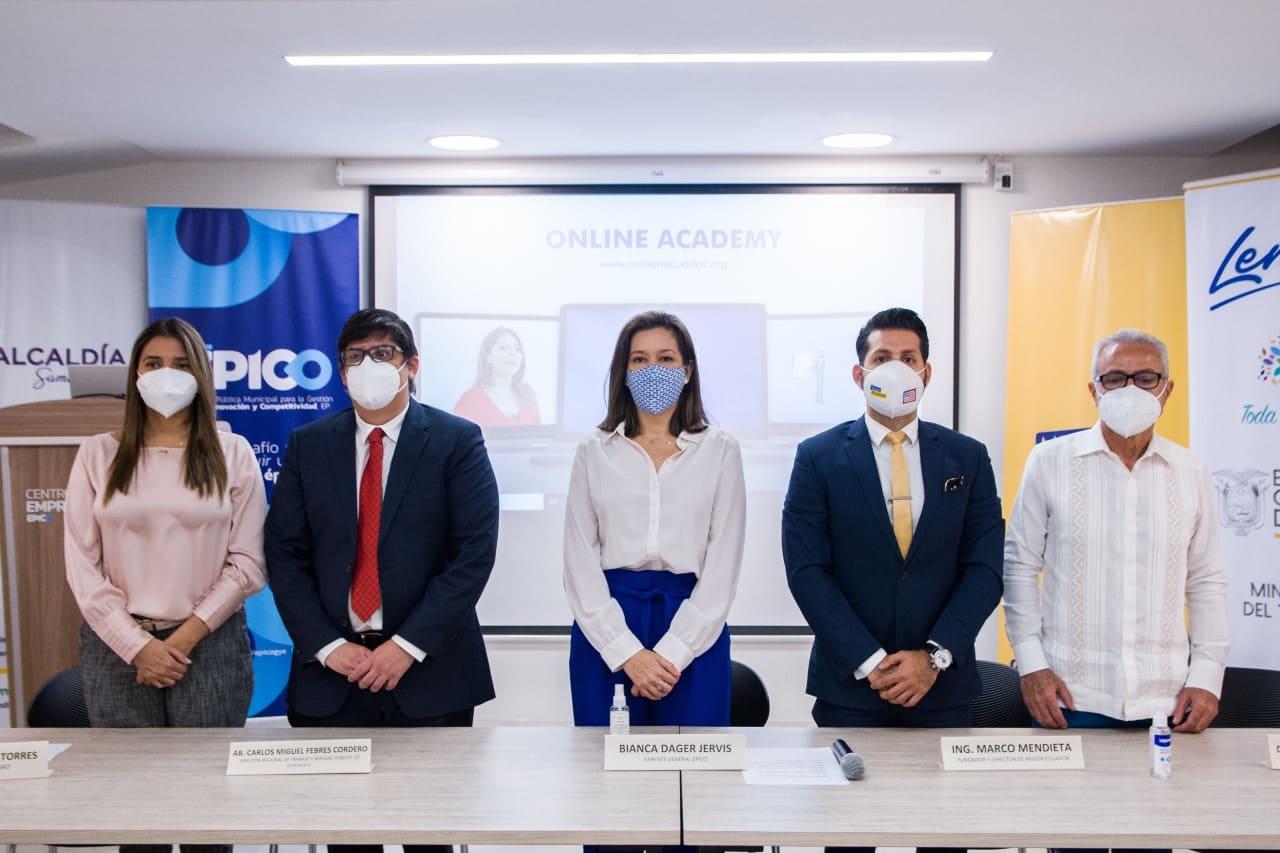 Misión Ecuador ofrece 350 becas para impulsar el emprendimiento con el apoyo de Épico