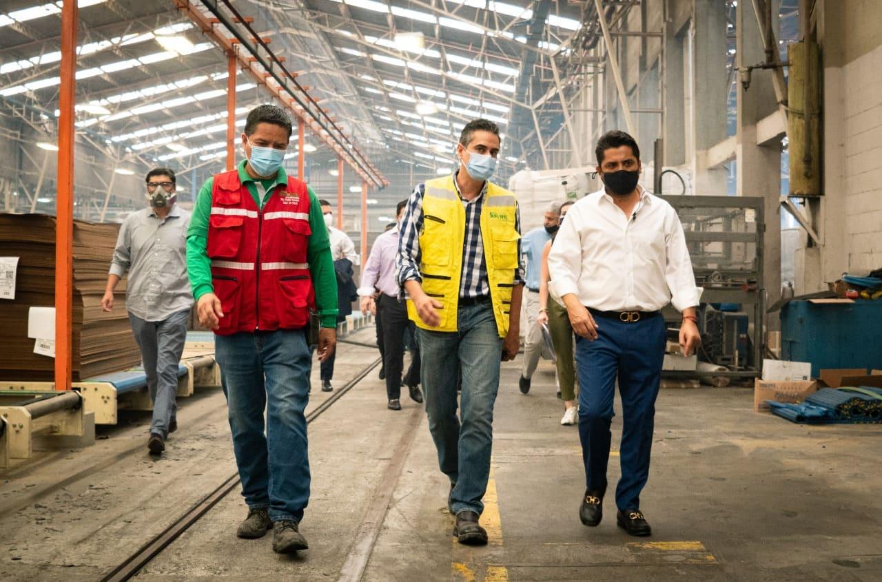 Procarsa reactiva su operación en la planta de Durán con visita del Ministro de Producción