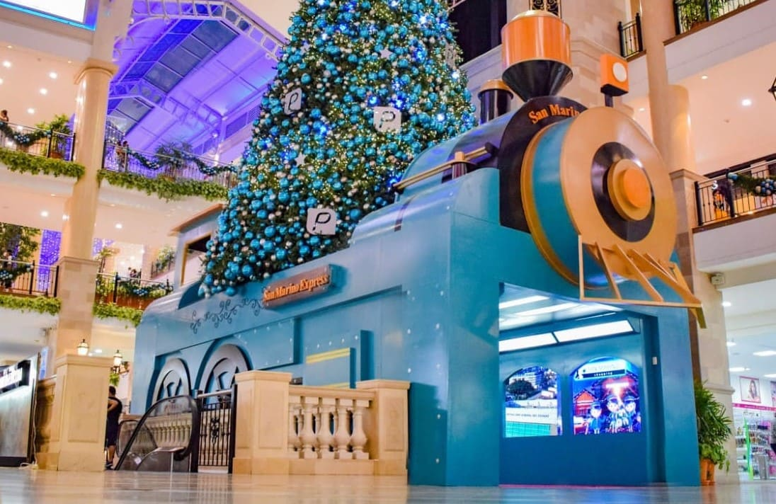 San Marino Shopping celebra navidad regalando 1000.00 dólares diarios y un Volkswagen Tiguan a sus clientes