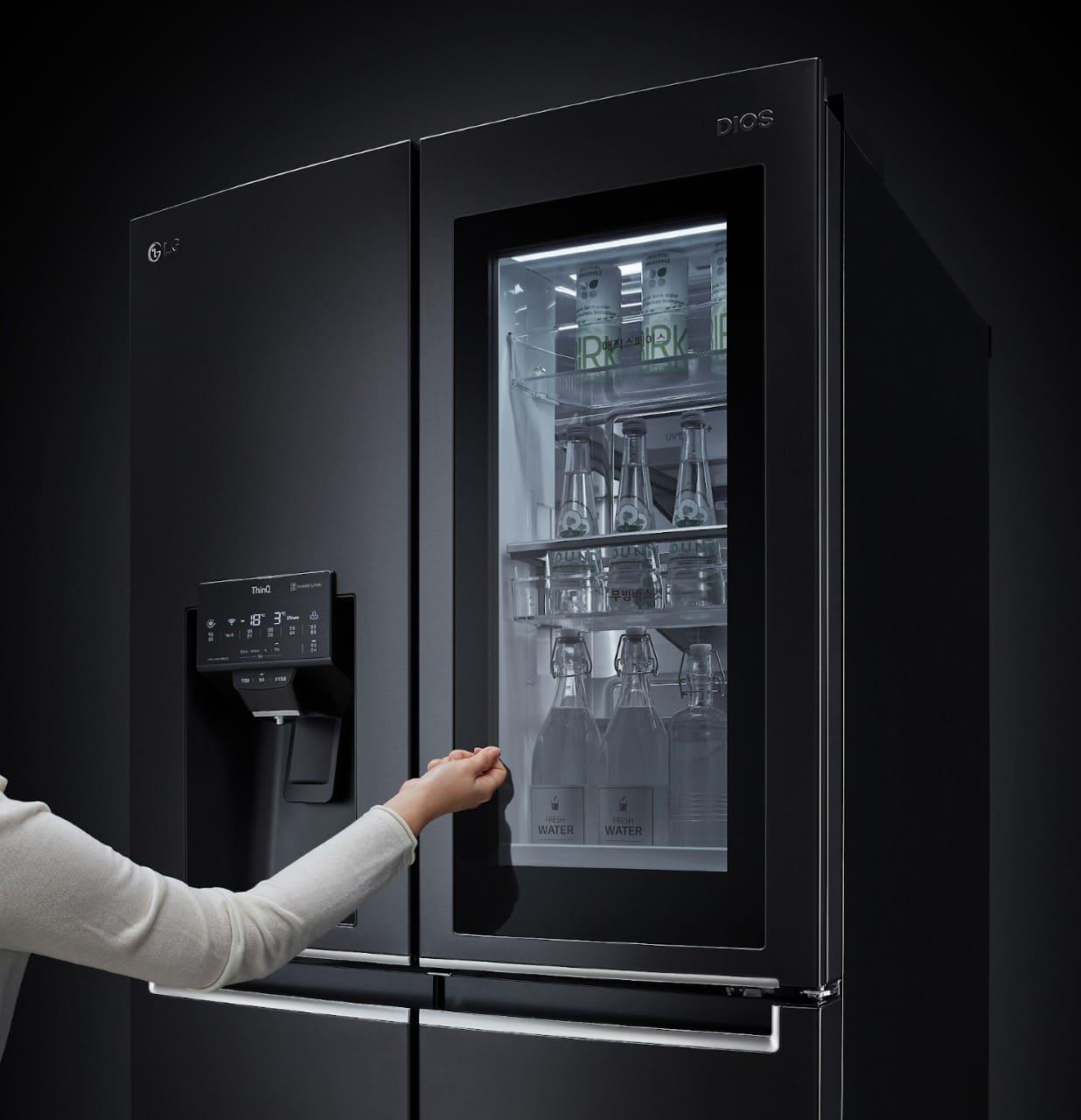 LG Instaview son los nuevos refrigeradores que se presentarán en el CES 2021