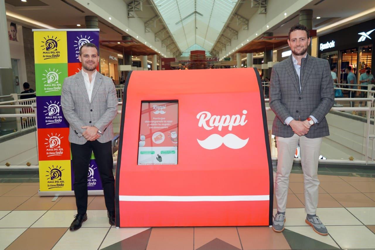 Mall del Sol y Rappi se unen para ampliar sus servicios en Guayaquil