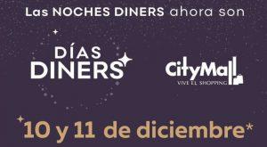 A CityMall llegan los días de tarjetas Diners con horario de atención extendido