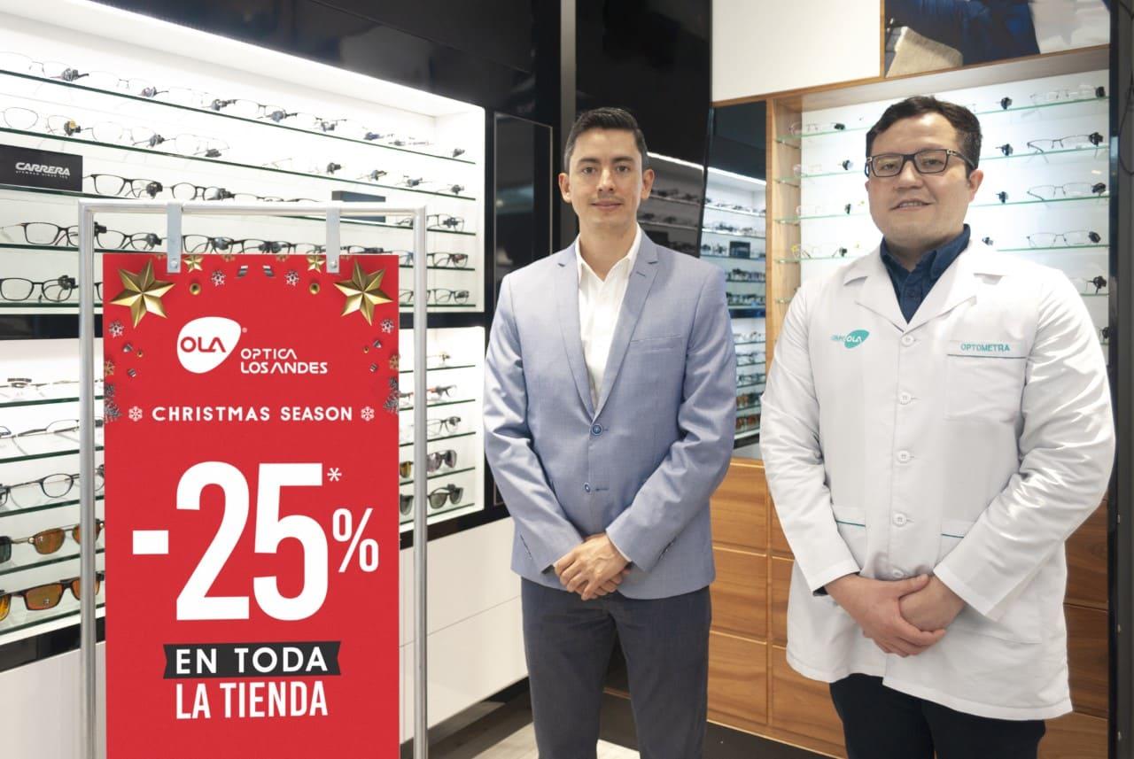 Óptica Los Andes realizó el lanzamiento de su campaña de promociones navideñas 2020