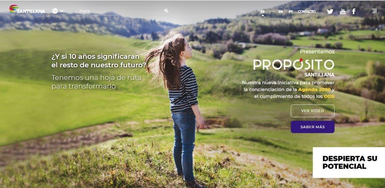 Propósito Santillana, busca establecer una educación sostenible a largo plazo