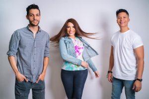 """Los artistas Jorge Luis del Hierro, Sergio Vivar y Vivianna unen sus voces en """"Sonríe"""""""