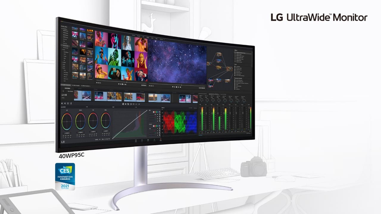 LG presenta sus monitores Ultra Series, con tecnología Premium Display que mejora su productividad