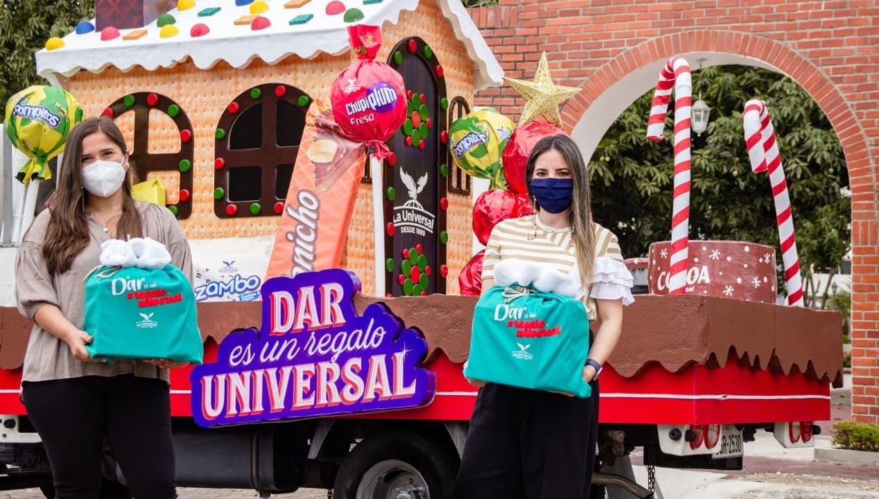 La Universal dio alegría a los niños de la comuna San Joaquín, a través de diferentes actividades