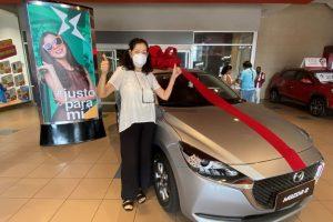 """Mall del Sur premia a ganador de la  """"Fábrica de Sueños"""""""