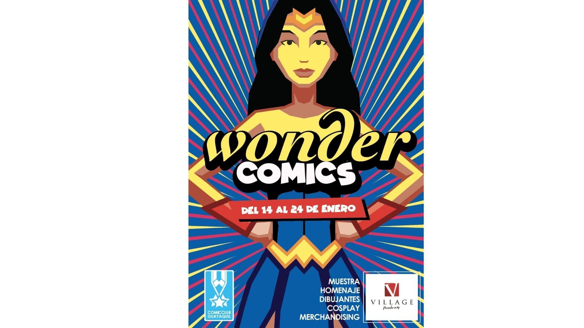"""""""Wonder Comics"""", homenaje que rinde Village por las ocho décadas de la Mujer Maravilla"""