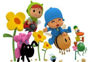 """El personaje animado Pocoyó se une a la campaña ambiental """"Cada abeja cuenta"""""""
