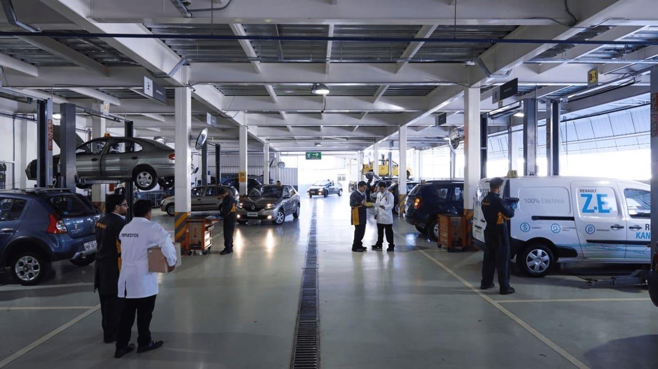 El área de posventa Renault cuenta con estándares de calidad internacional