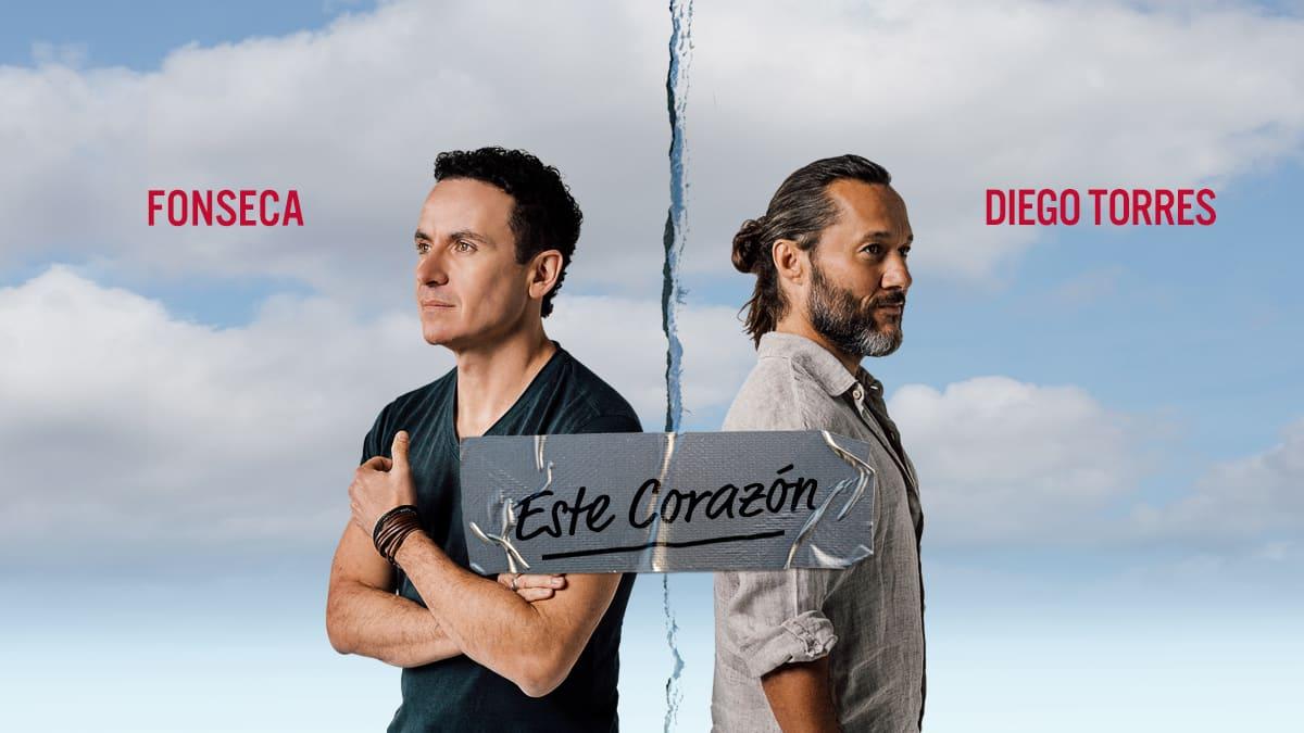 """Diego Torres nos presenta su nuevo sencillo musical """"Este Corazón"""" junto a Fonseca"""