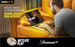Netlife incorpora Paramount+, el nuevo servicio de streaming de ViacomCBS
