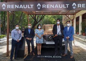 Renault realizó el lanzamiento del All New Koleos y presentó a Nicolás Lapentti como su embajador oficial