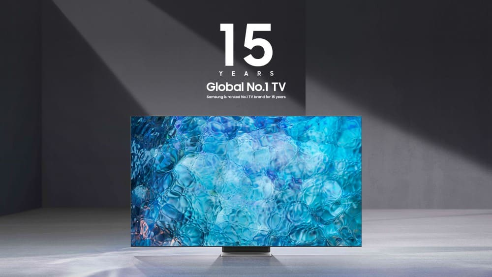 Samsung – 15years-Global-No.1-TV