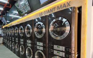 LG presentó su primera lavandería inteligente al mercado internacional
