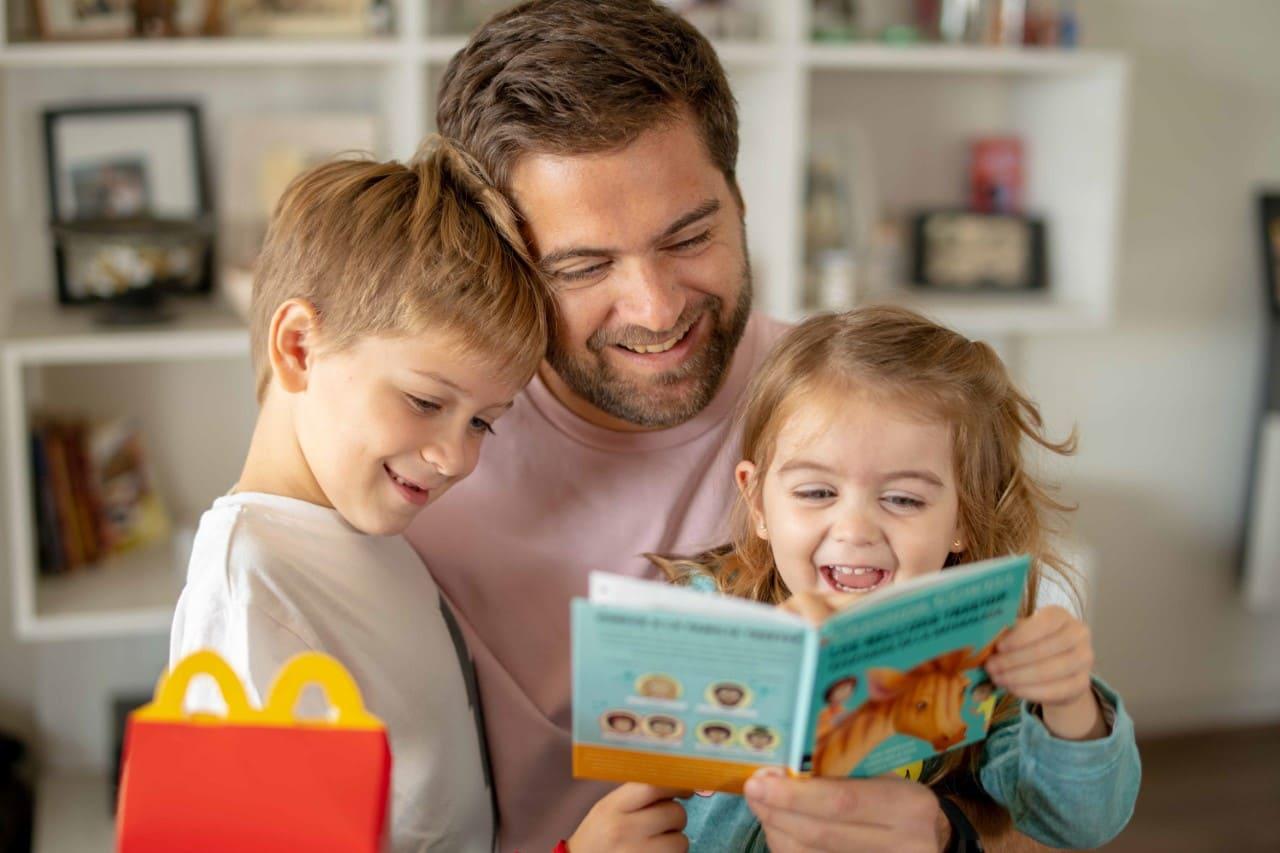 Más de 20 millones de libros infantiles  fueron entregados con la Cajita Feliz