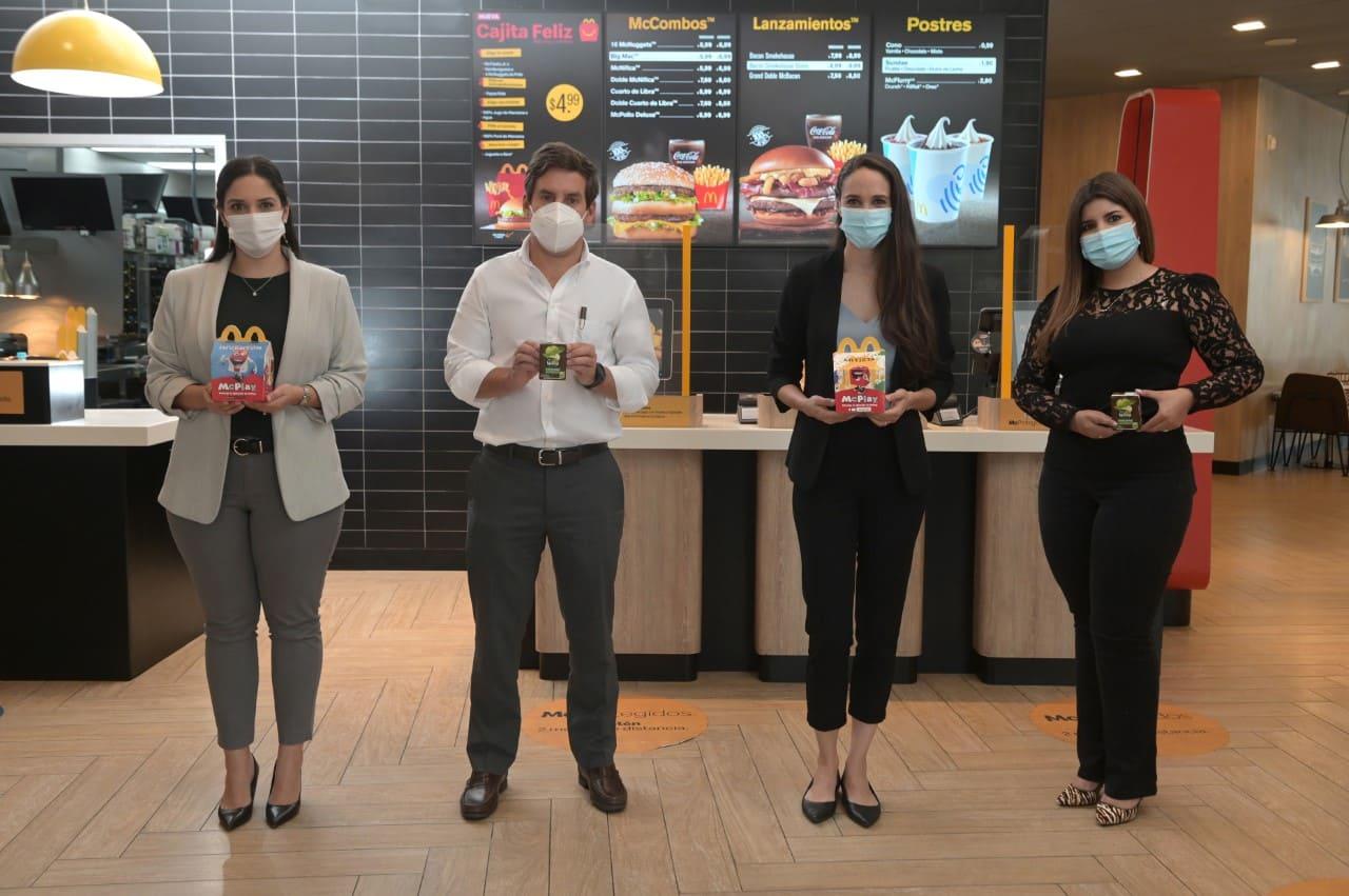 Nestlé y McDonald's incluyen una alimentación más saludable y nutritiva en su Cajita Feliz