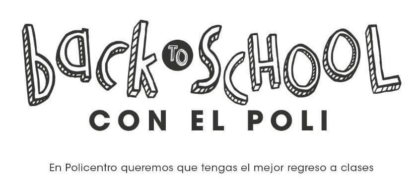 """Policentro regalará combos digitales a través de su campaña """"Back To School"""""""