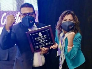 Tesalia cbc recibe el Premio Violeta por parte del Gobierno Nacional