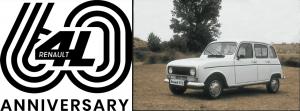 Renault celebra los 60 años de un ícono, el Renault 4L