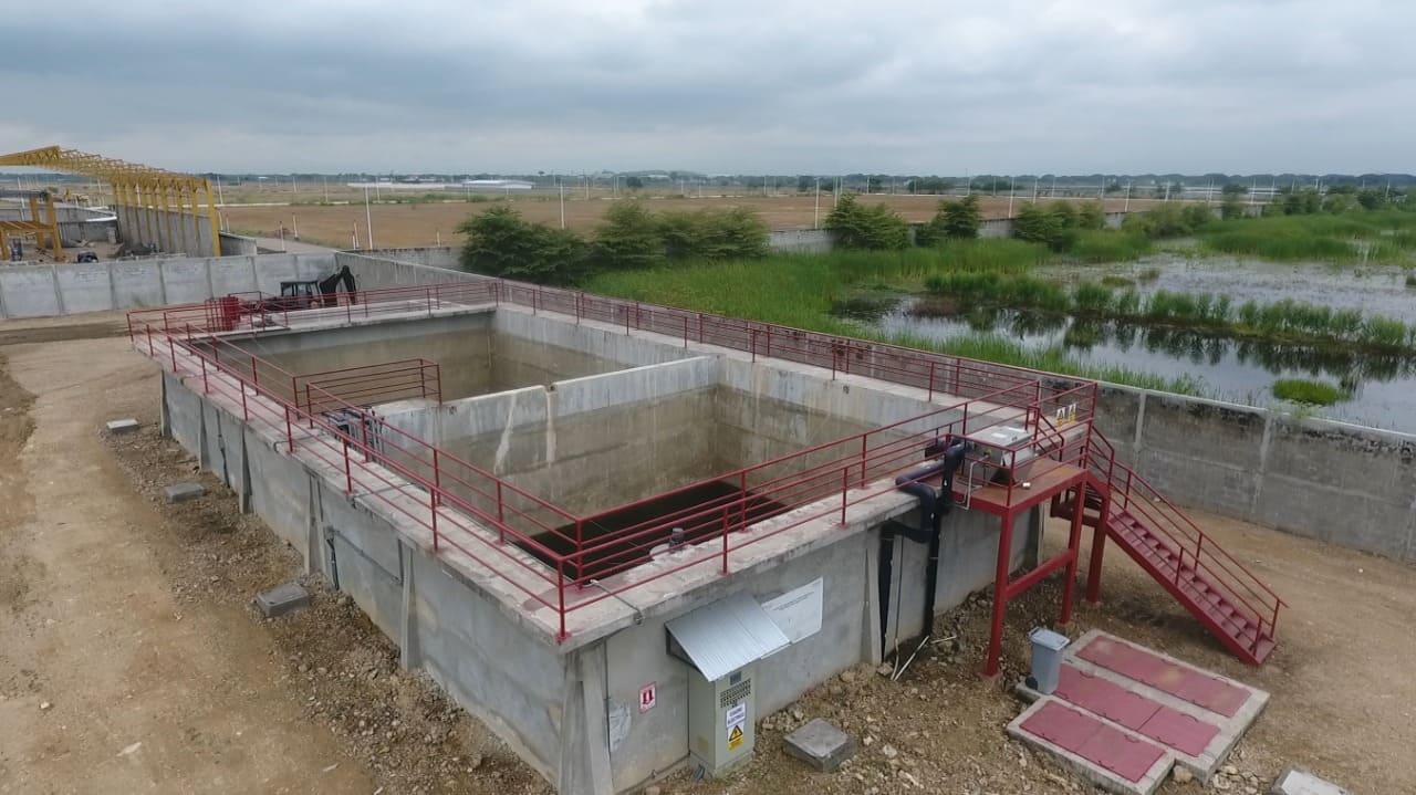 Oletnat: Nueva planta de tratamiento de aguas residuales que beneficiará a Durán, Yaguachi y Milagro