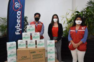 Cruz Roja Ecuatoriana recibió donación por parte de Corporación GPF