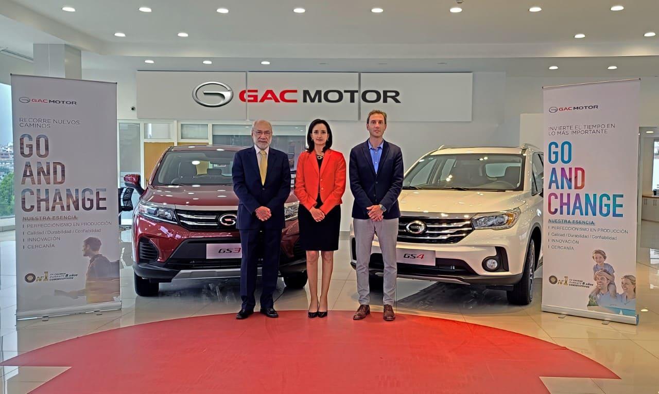 """GAC Motor celebra 2 años en el país y presenta su nuevo eslogan """"Go and Change"""""""