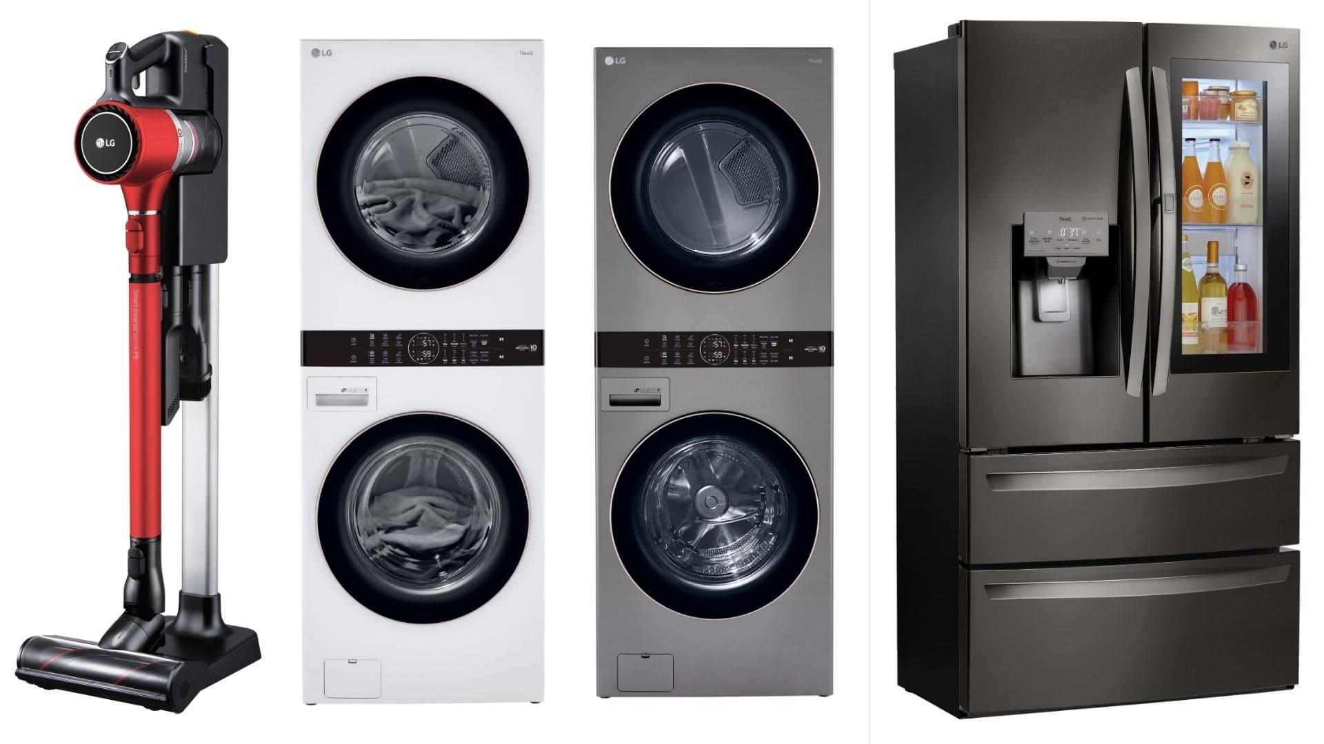 LG Electronics destaca las ventajas de un hogar inteligente con su nueva LG Washtower