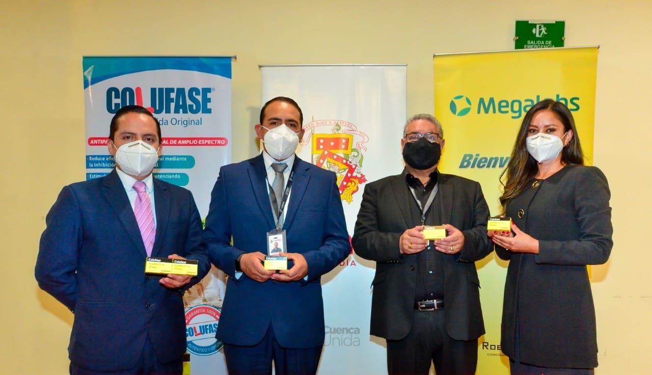 Megalabs realizó una importante donación de medicamentos al Municipio de Cuenca