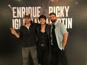 El colombiano Sebastián Yatra se une a la gira de conciertos de Enrique Iglesias y Ricky Martín