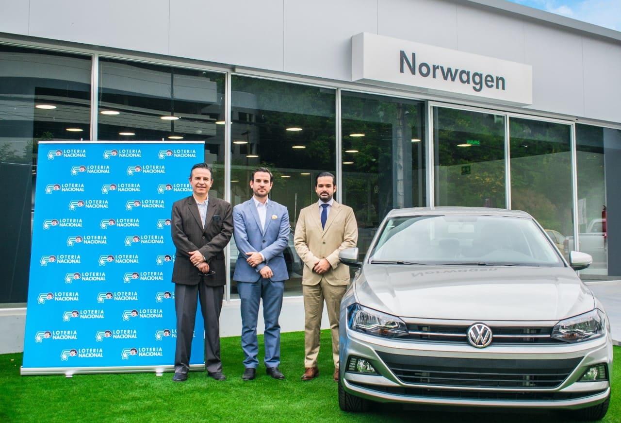 Volkswagen y la Junta de Beneficencia de Guayaquil entregarán 24 autos Polo HB a través de los sorteos de Lotería Nacional