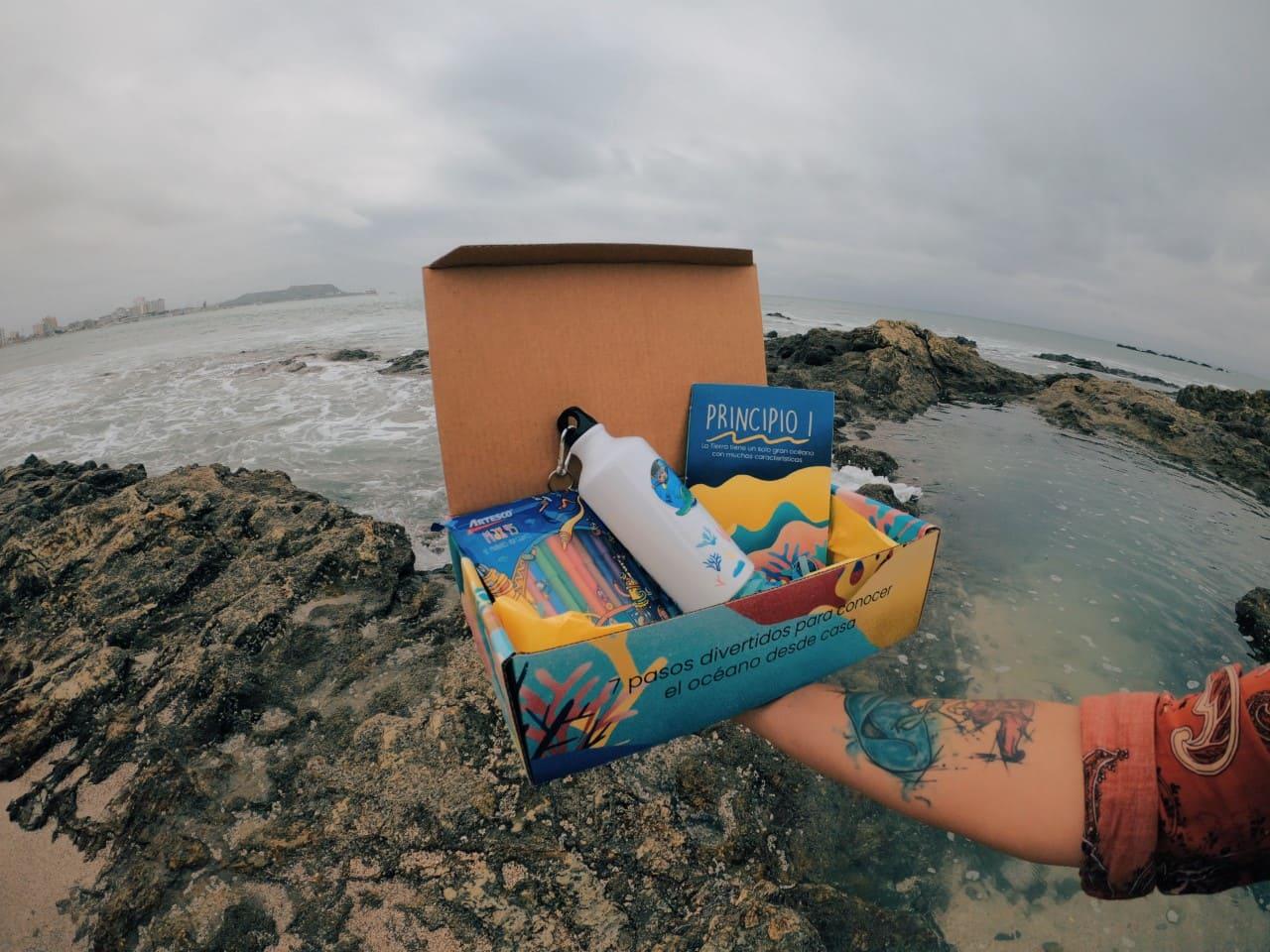 """Por el """"Día mundial del Océano"""" La Fundación amiguitos del Océano presenta su kit de educación Oceánica"""